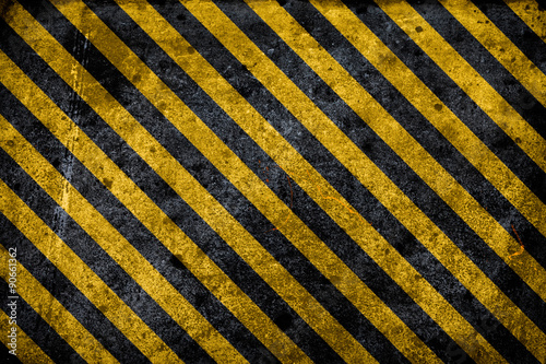 Fototapeta  grunge hazard background