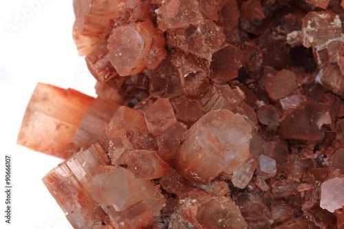 Photo aragonite mineral..aragonite mineral texture