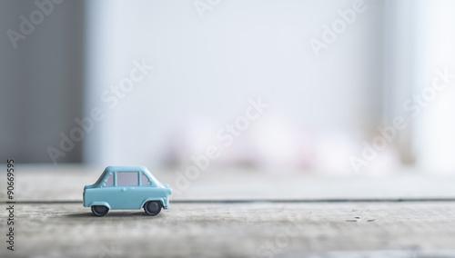 Keuken foto achterwand Vintage cars toy car