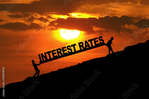 Fotografía  Higher Interest Rates