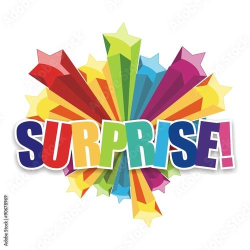 Surprise Icon Canvas-taulu