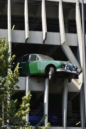 Fotografie, Obraz  Décor insolite d'un parking à étages à bordeaux