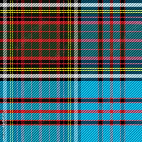Tartan Clan Anderson Canvas Print