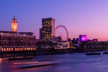 South Bank Wheel In Purple