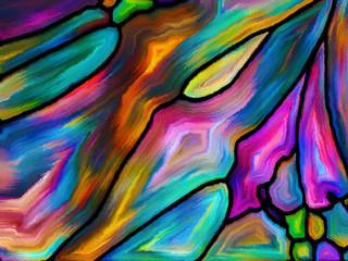 Naklejka Na szybę Paradigm of Pattern