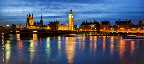 Tuinposter Londen Houses of Parliament