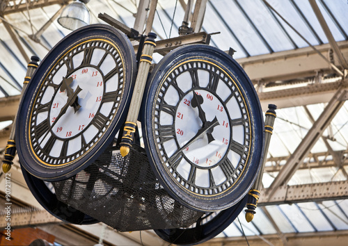 In de dag Londen Large clock