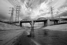 The Los Angeles River And 6th ...