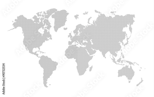 Vector dotted world map buy this stock vector and explore similar vector dotted world map gumiabroncs Images