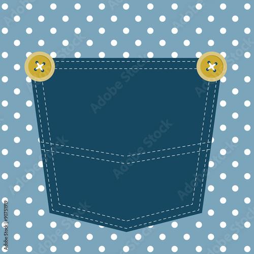 Fotografía  blue pocket