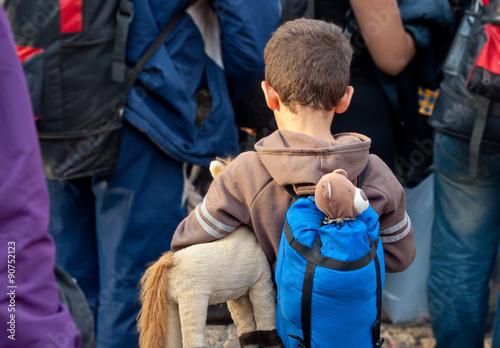 Valokuva Flüchtlinge