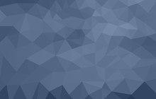 Monochromatic Blue Abstract Lo...