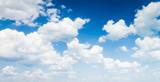 Fototapeta Na sufit - blue sky with cloud closeup