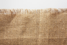 Burlap With Frayed Edge