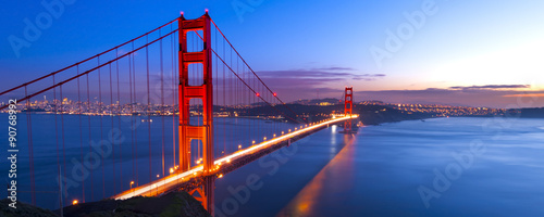 Foto op Canvas San Francisco Golden Gate Bridge, San Francisco, California, USA