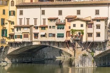 Fototapeta na wymiar Ponte Vecchio - Florence - Italy