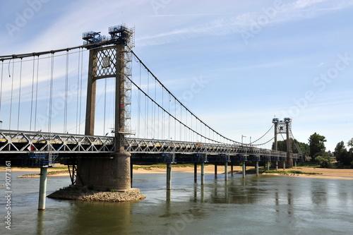 Le pont suspendu d' Ancenis #90773161