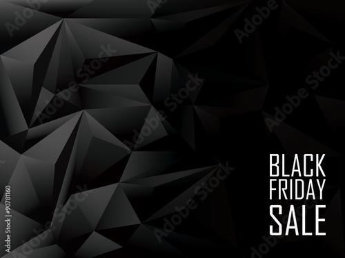 czarny-piatek-sprzedaz-wielokatne-tlo