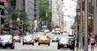 4K Manhattan Cityscape Traffic Pedestrians Avenue of the Americas