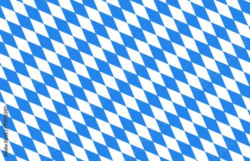 Bayern Rauten blau Hintergrund Oktoberfest Billede på lærred