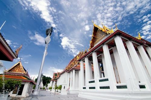 Deurstickers Bedehuis Wat Ratchanadda, Bangkok, Thailand