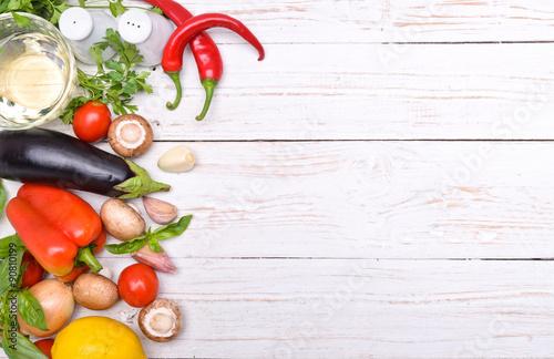 Foto op Plexiglas Koken Concept of cooking.