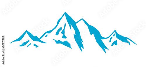 Fotomural Wintersport - Berge - 11