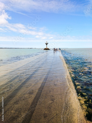 Fotografía Le passage du Gois submergé