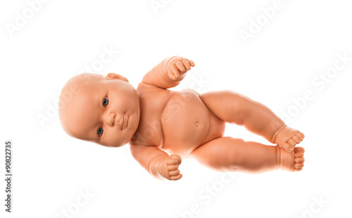 Fotografie, Obraz  baby doll isolated