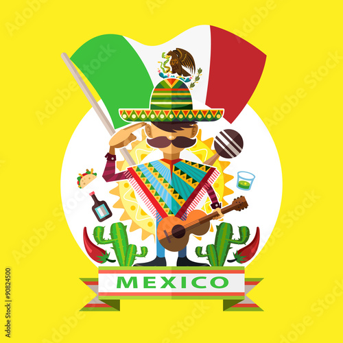 Photo  Mexico Independence Day