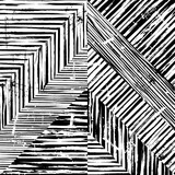 abstract geometric pattern background,  black and white, triangles - 90841169