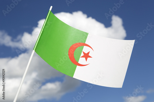 Foto op Canvas Algerije Algeria flag
