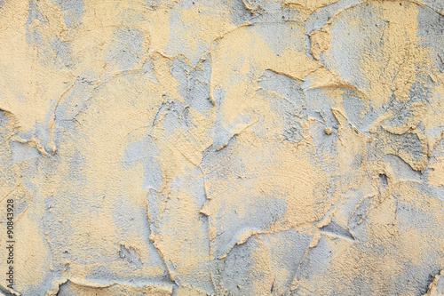 Fotobehang Oude vuile getextureerde muur plasterer cement at wall for texture back ground