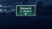 New Jersey USA Airport Highway...