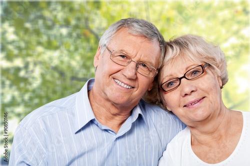Fototapety, obrazy: Cheerful Couple.