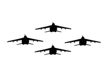 Alpha Jet Isolated On White