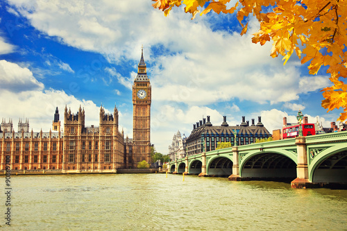 Fotografie, Tablou  Big Ben in London