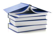 Blue Hard Cover Books