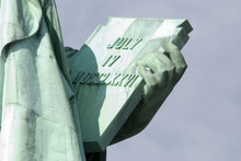 Statue Of Liberty Detail, New York