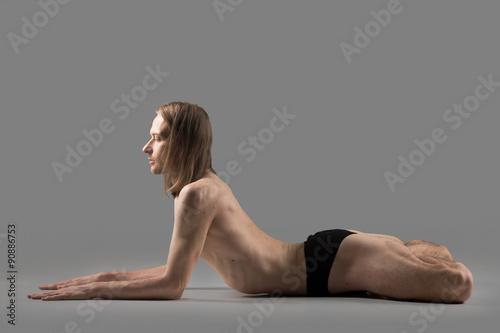 Fototapeta Yoga backbend asana obraz na płótnie