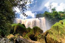 Elephant Waterfall (Thac Voi) In Dalat City, Lam Dong, Vietnam