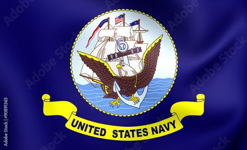Photo  United States Navy Flag