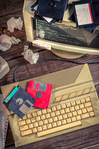 Fotografia  Finding solutions algorithm of programming languages