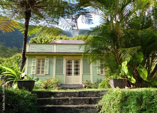 Fotografía  case créole, Réunion