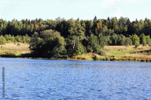 landscape lake shore
