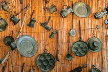 Vintage Metal Utensils. Yoruk ...