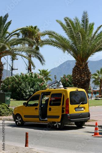 Türaufkleber Autos aus Kuba Taxi