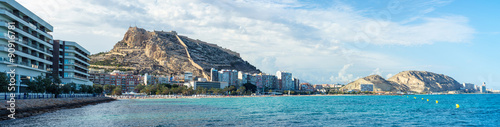 Foto Alicante, Spain coastline in summer