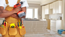 Builder Handyman With Construc...