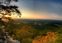 """Sunset Panorama At """"Sawnee Mountain"""""""
